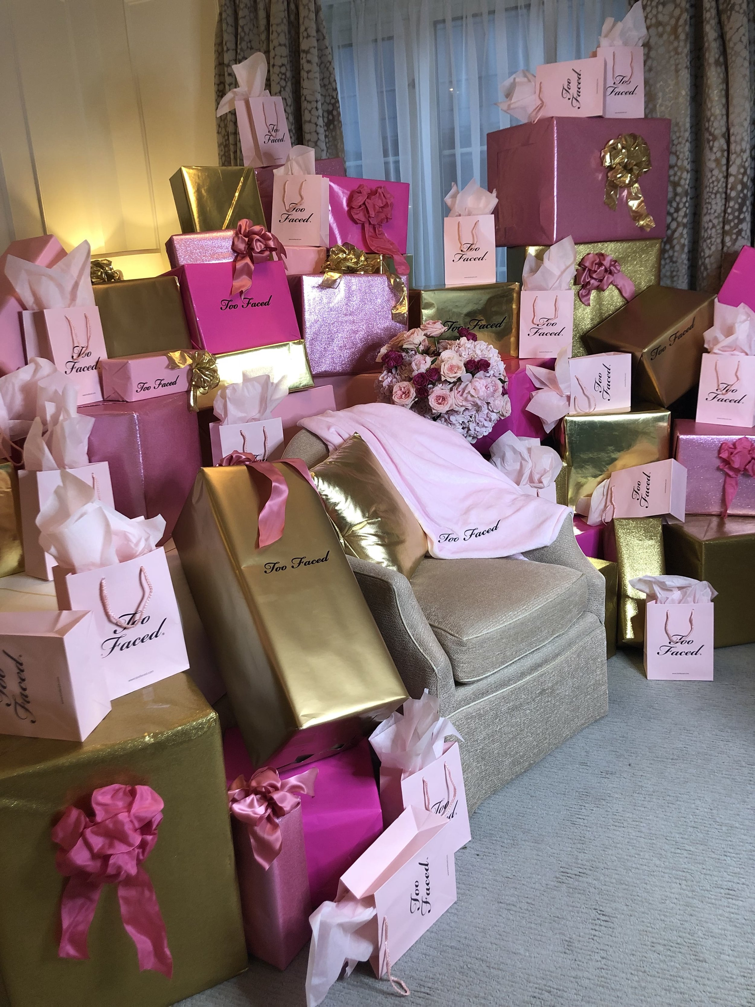 Too Faced Gift Installation- B Floral