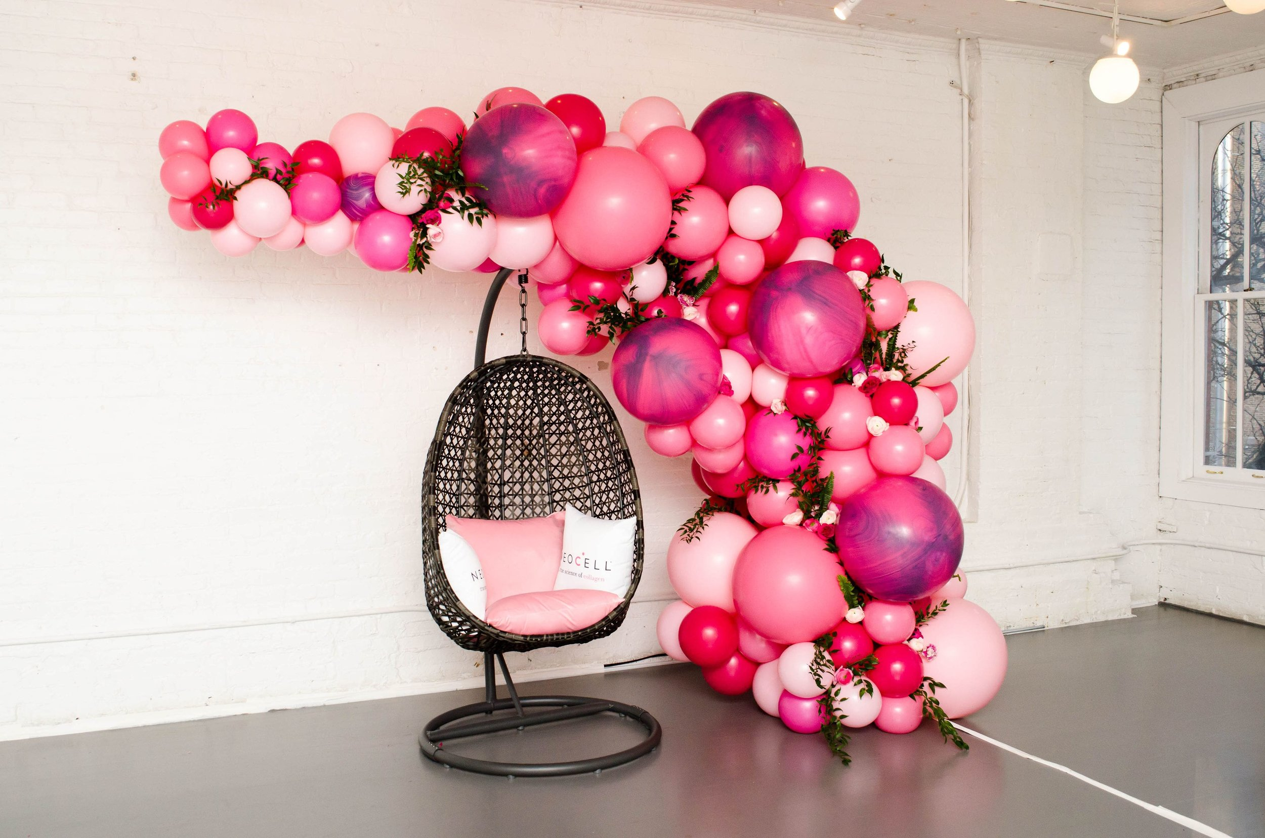 KMA Events Balloon Install- B Floral