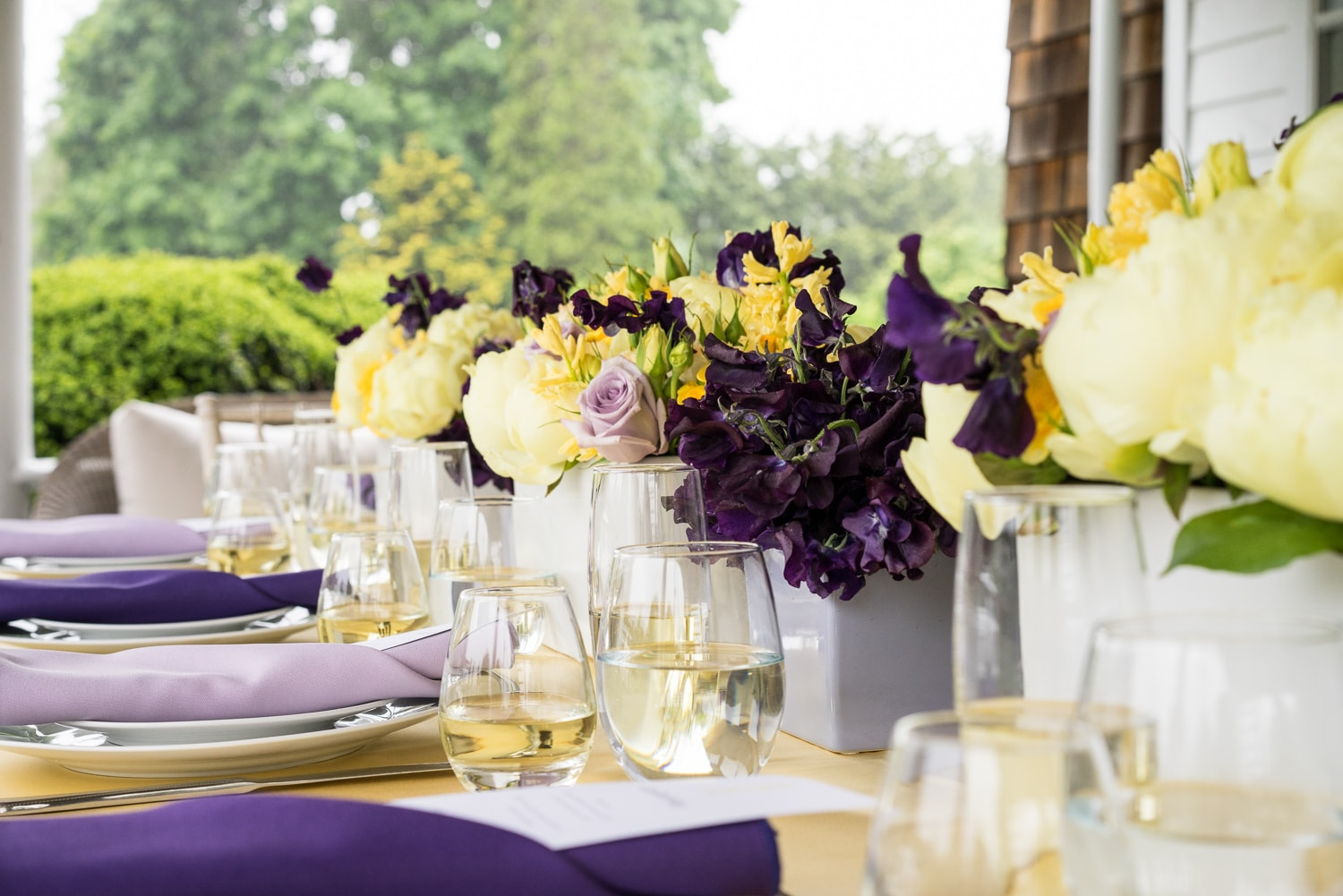 SPRING TABLESCAPE 2019 - PURPLE AND YELLOW - B FLORAL