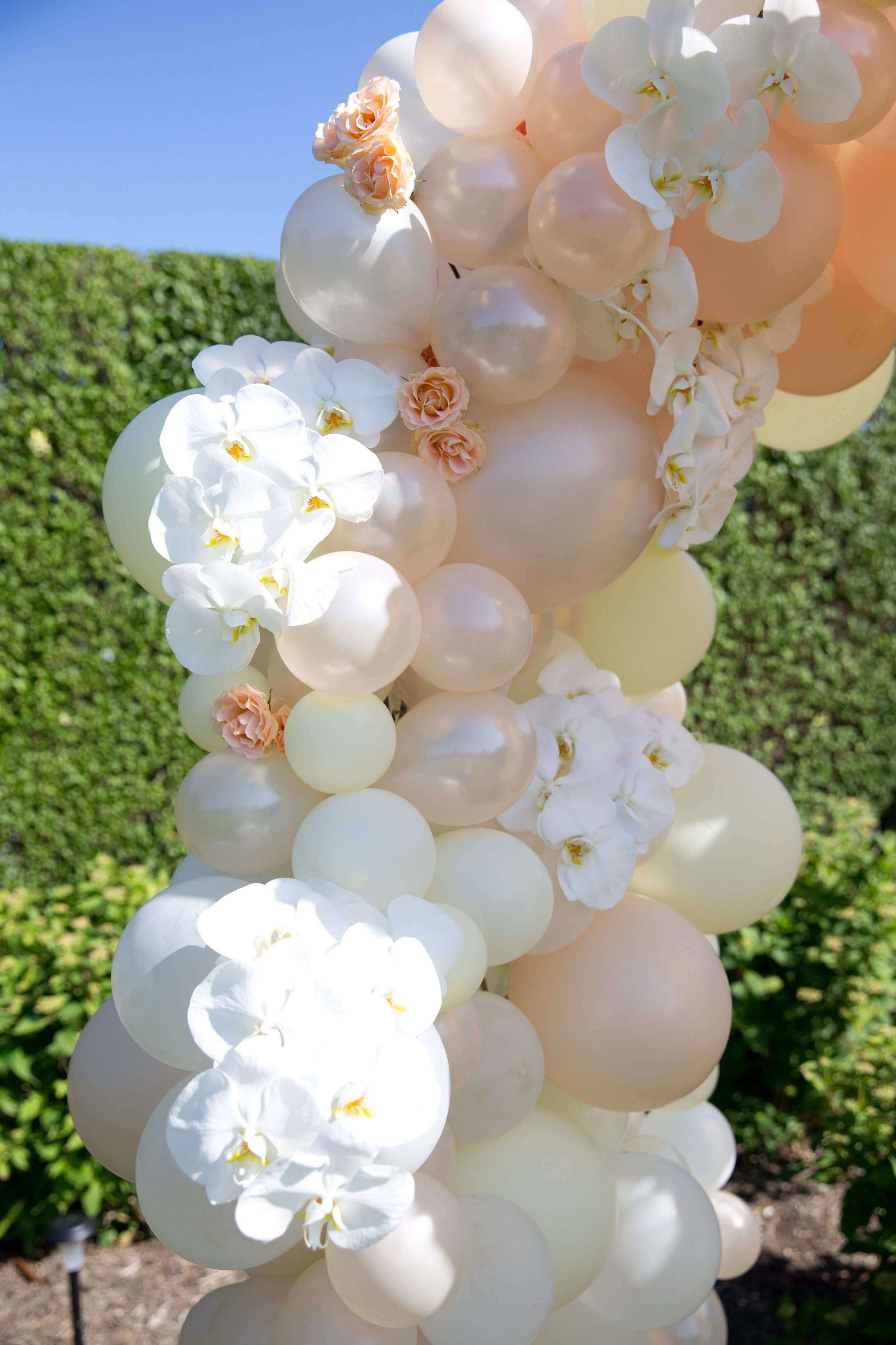 Balloon and Floral Installation- B Floral