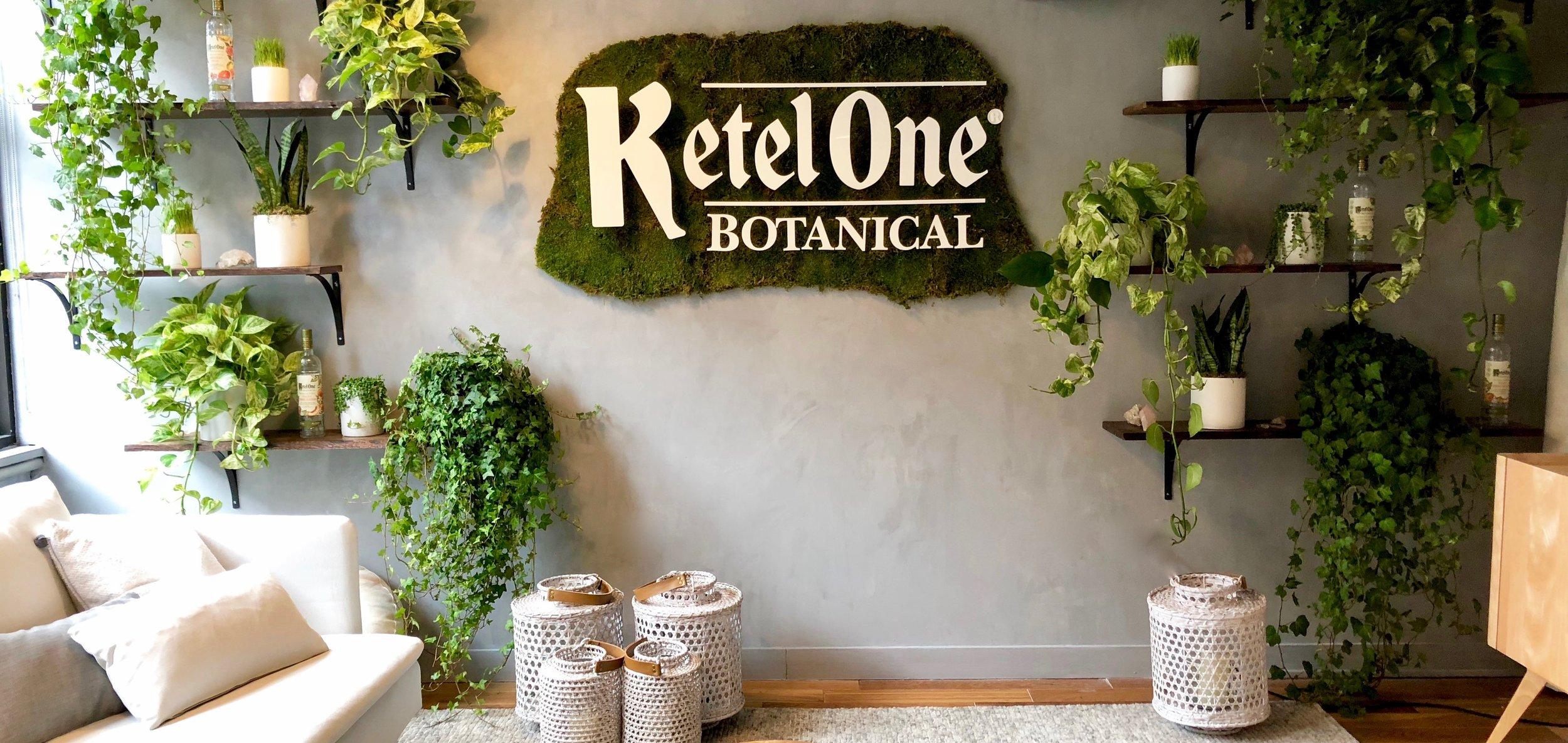 Ketel One Botanical Plant Lounge- B Floral