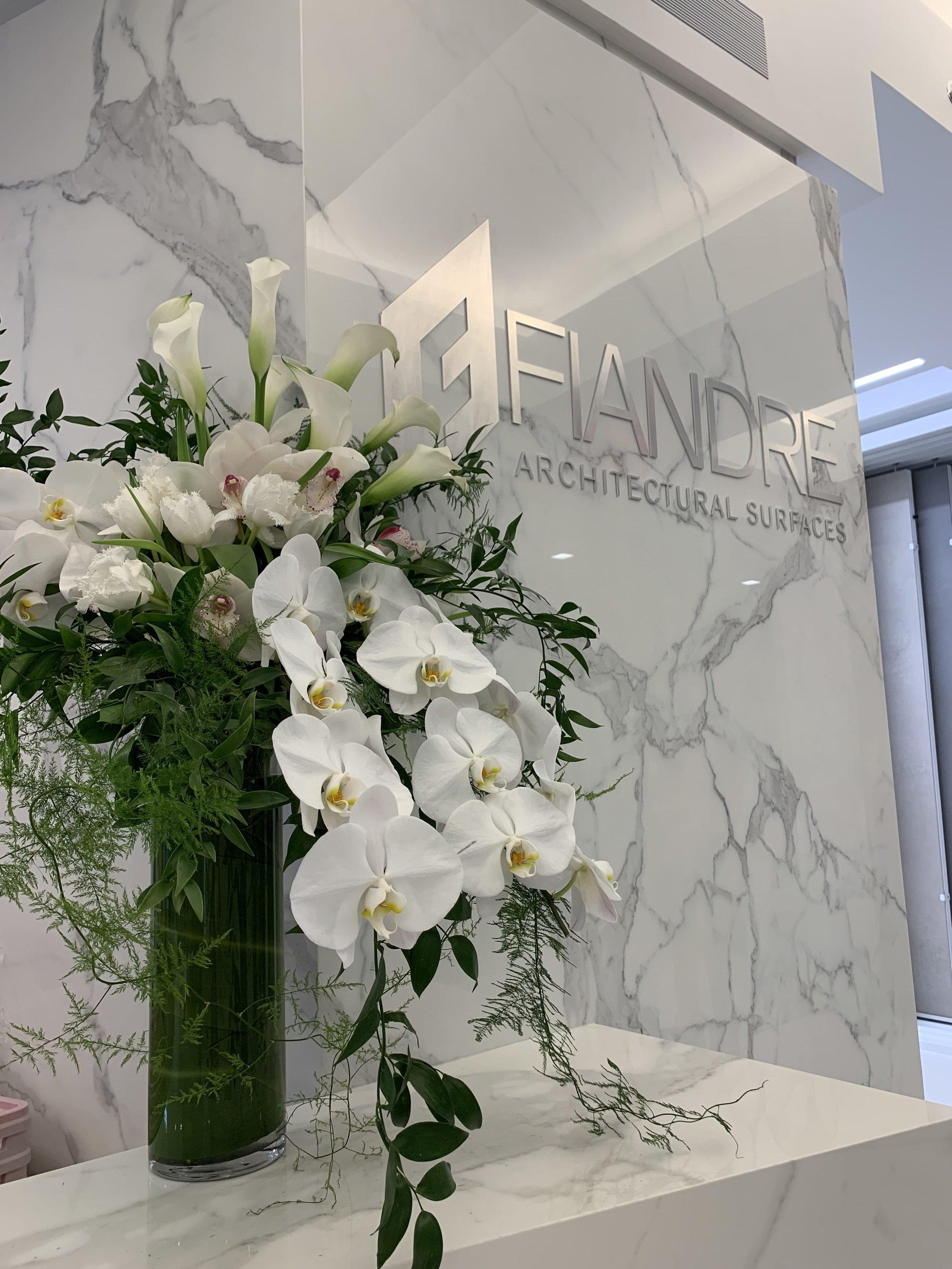GranitiFiandre Orchid Arrangement - B Floral