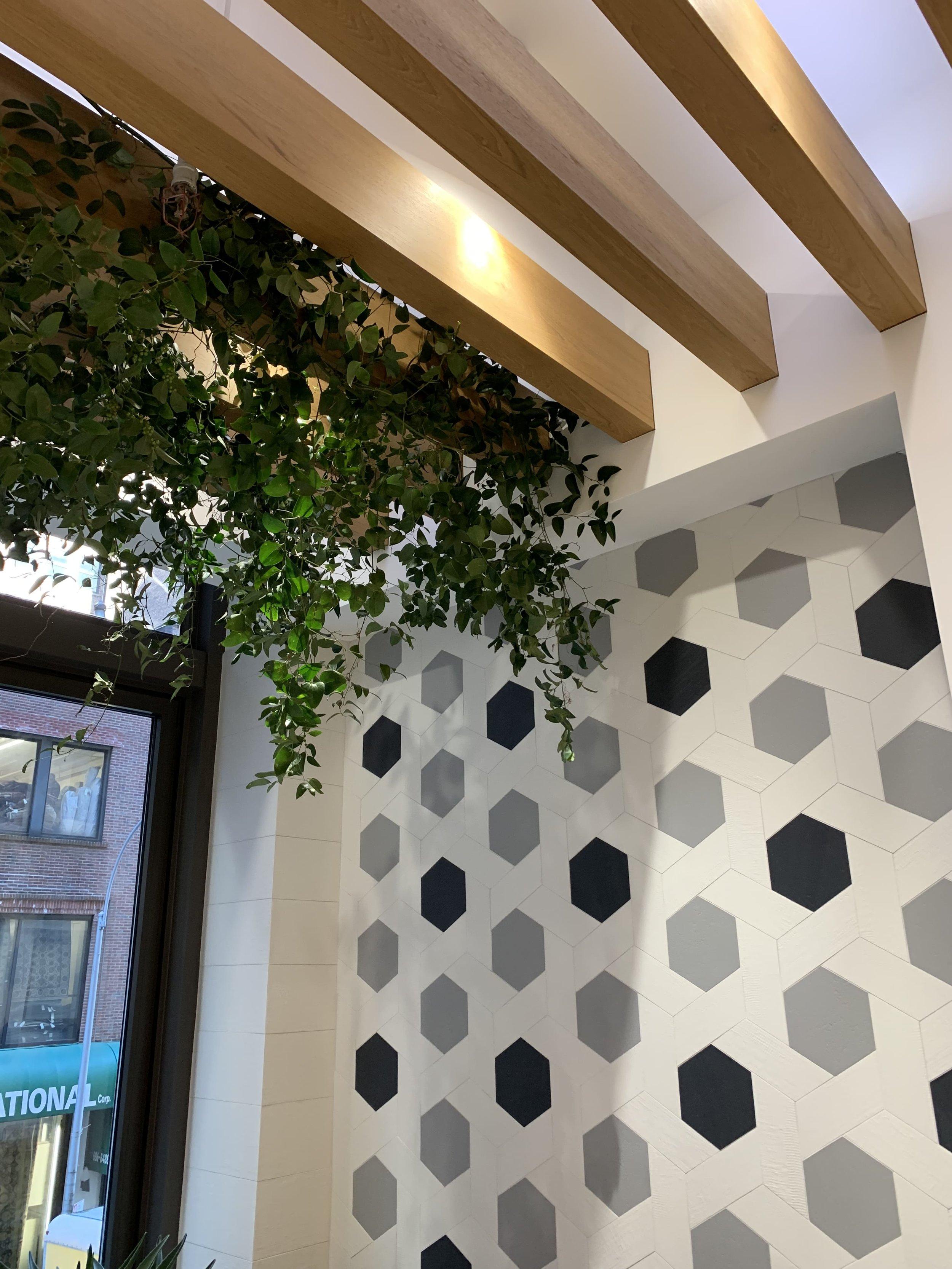 GranitiFiandre Hanging Greenery - B Floral