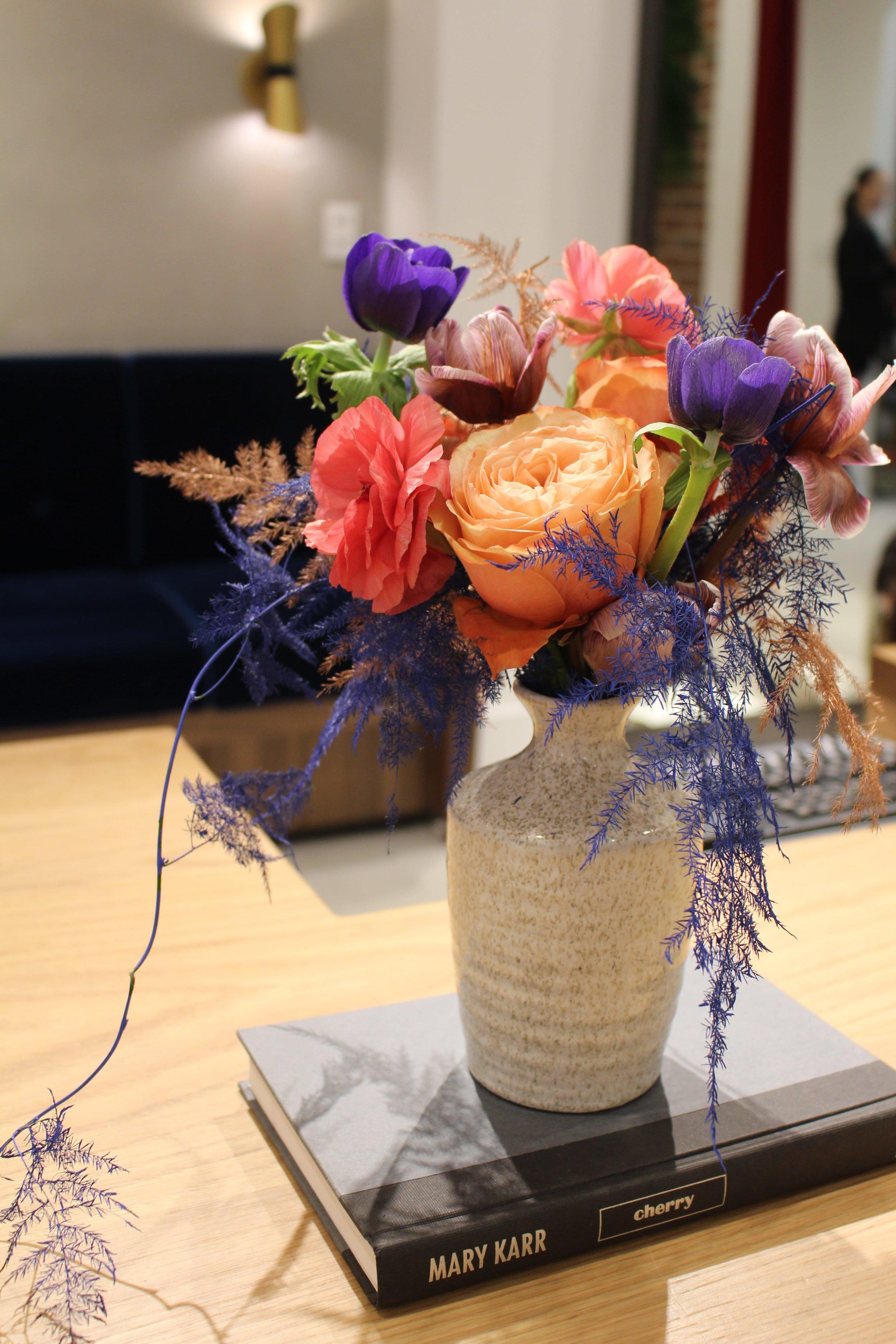 Naturalizer Store Bud Vase - B Floral