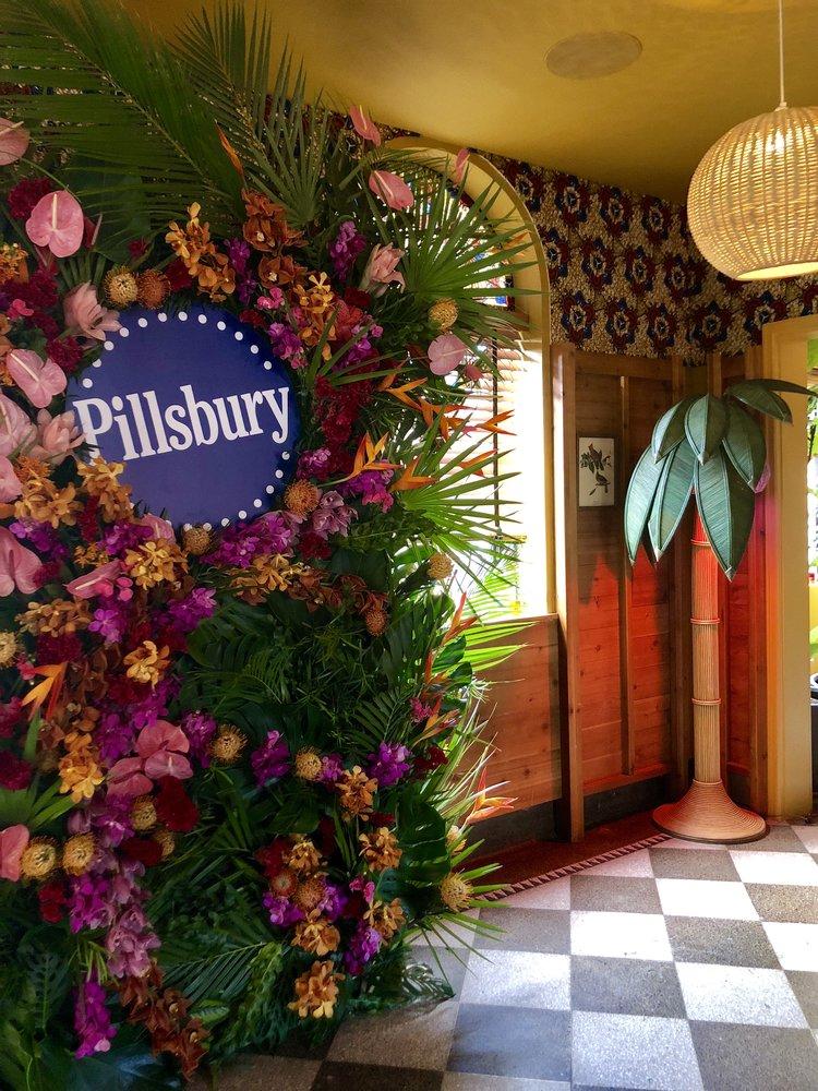 Pillsbury Tropical Floral Wall - B Floral