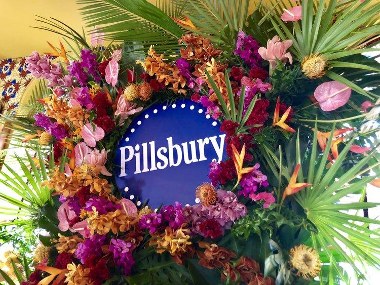 Pillsbury Tropical Flower Wall - B Floral