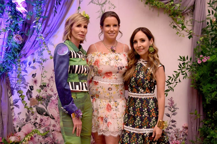 B Floral Spring Media Event - Carole Radziwill, Bronwen Smith, Lilliana Vazquez