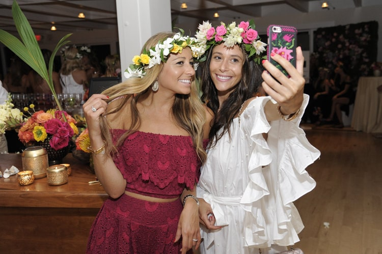 Style on the Rise's Marni Harvey and Lindsi Lane Style - B Floral Media Event