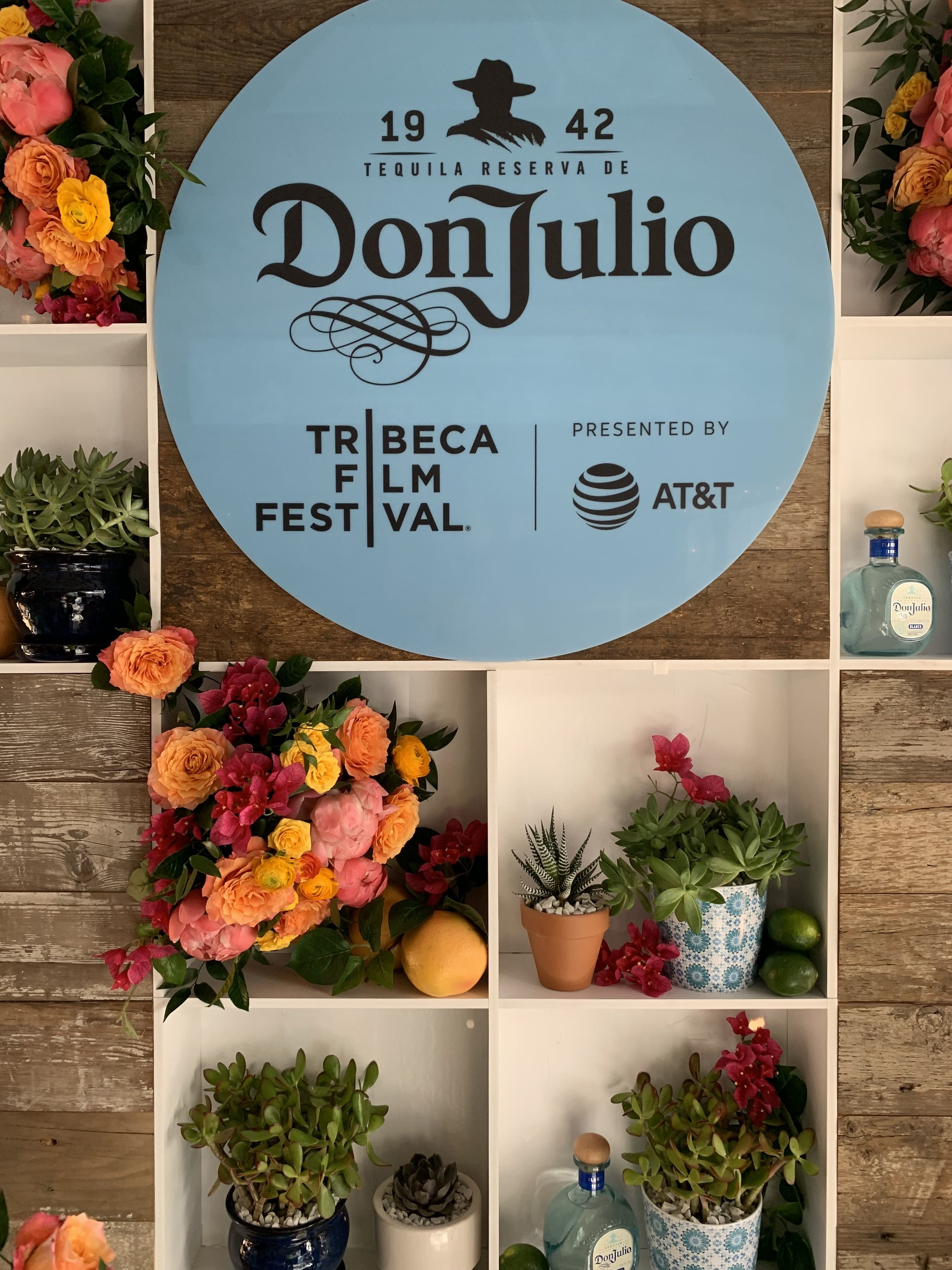 Don Julio Backdrop - B Floral