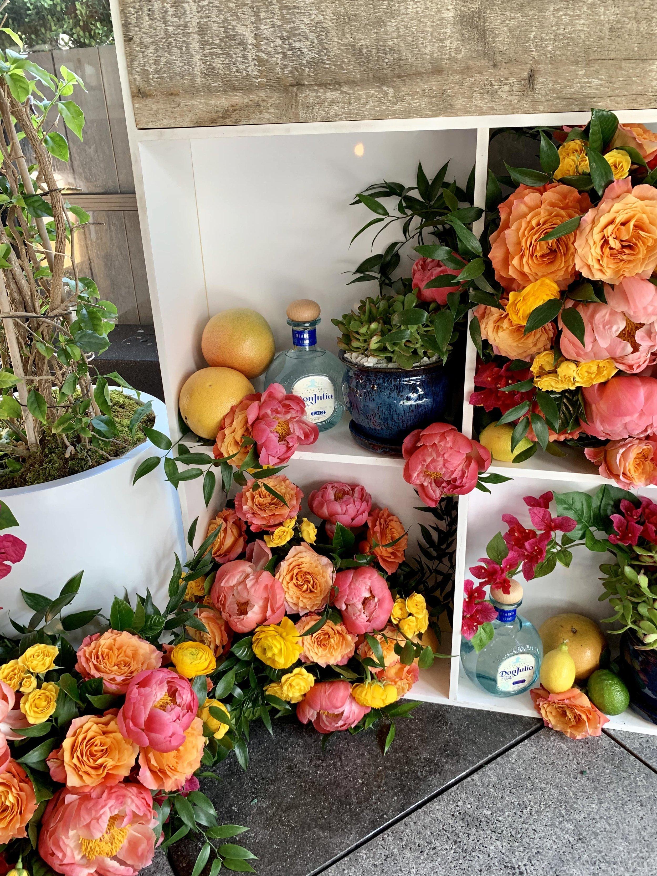 Don Julio Tequila Vignettes - B Floral