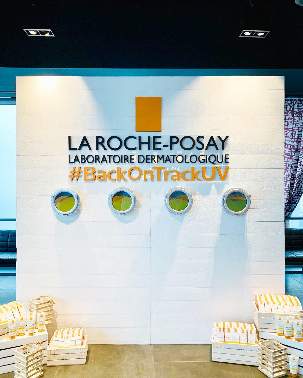 La Roche-Posay Branded Wall - B Floral