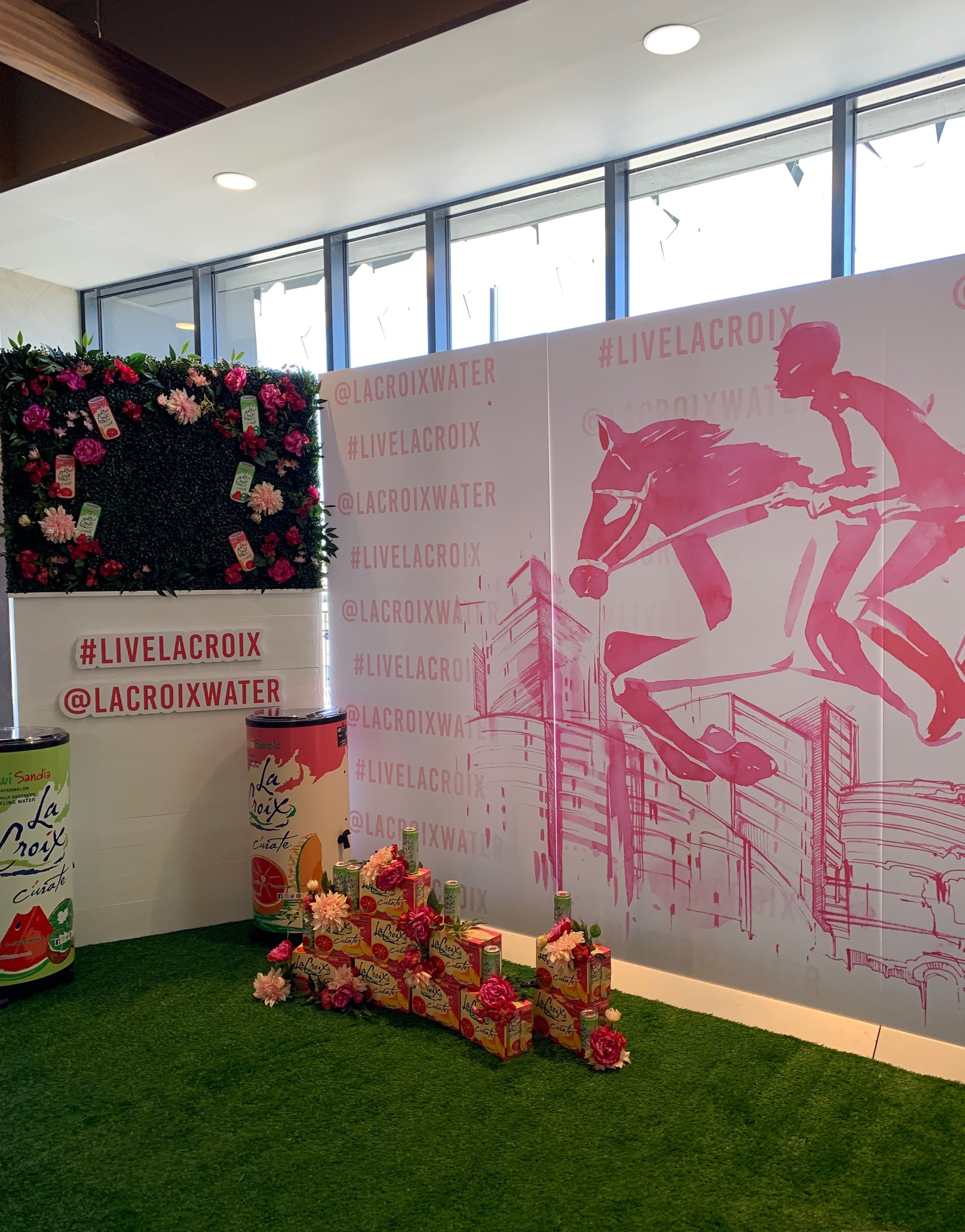 LaCroix Longines Activation - B Floral