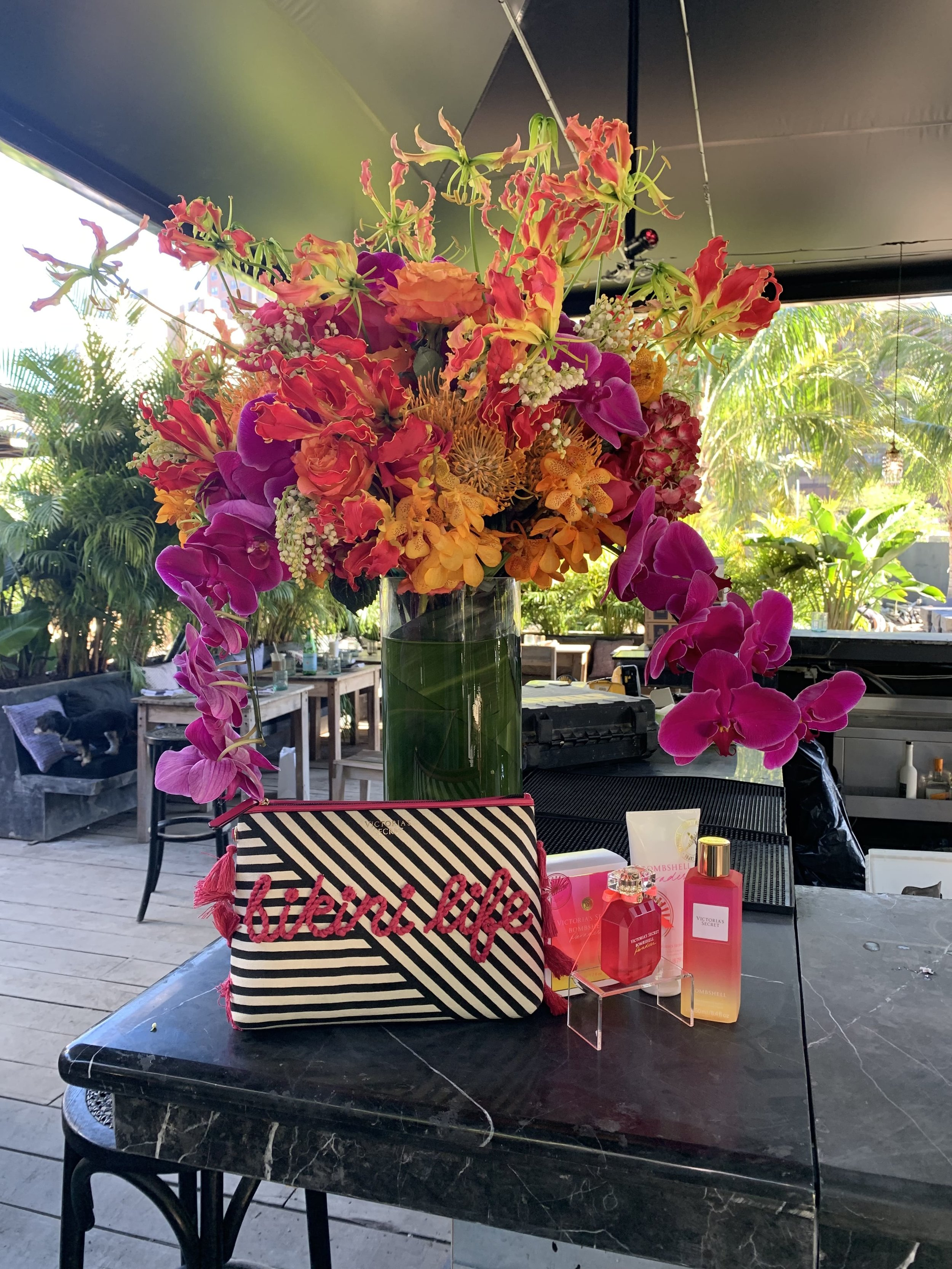 Victoria's Secret Tropical Product Display - B Floral