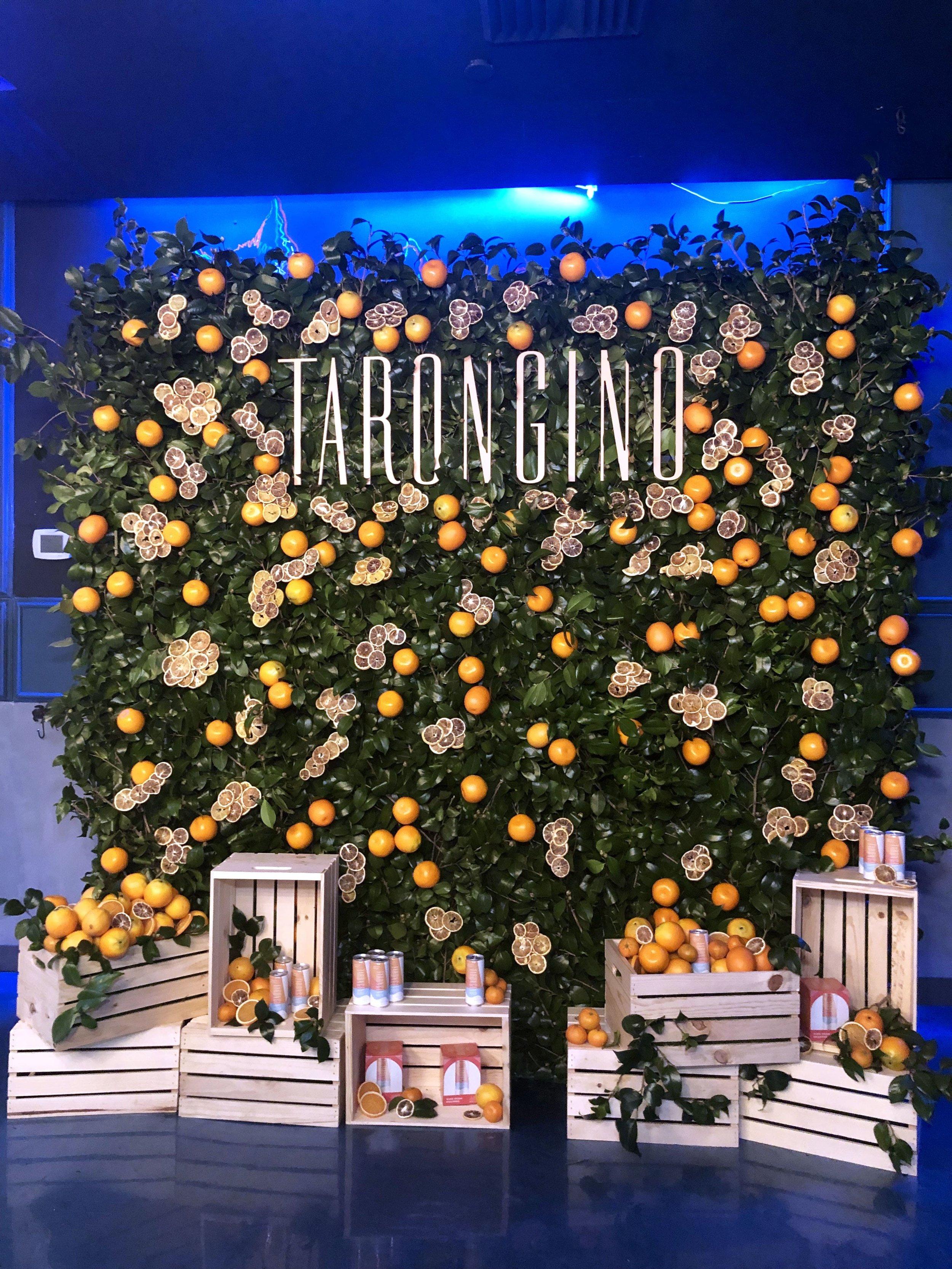 TARONGINO USA - ORANGE TREE LAUNCH EVENT - B FLORAL