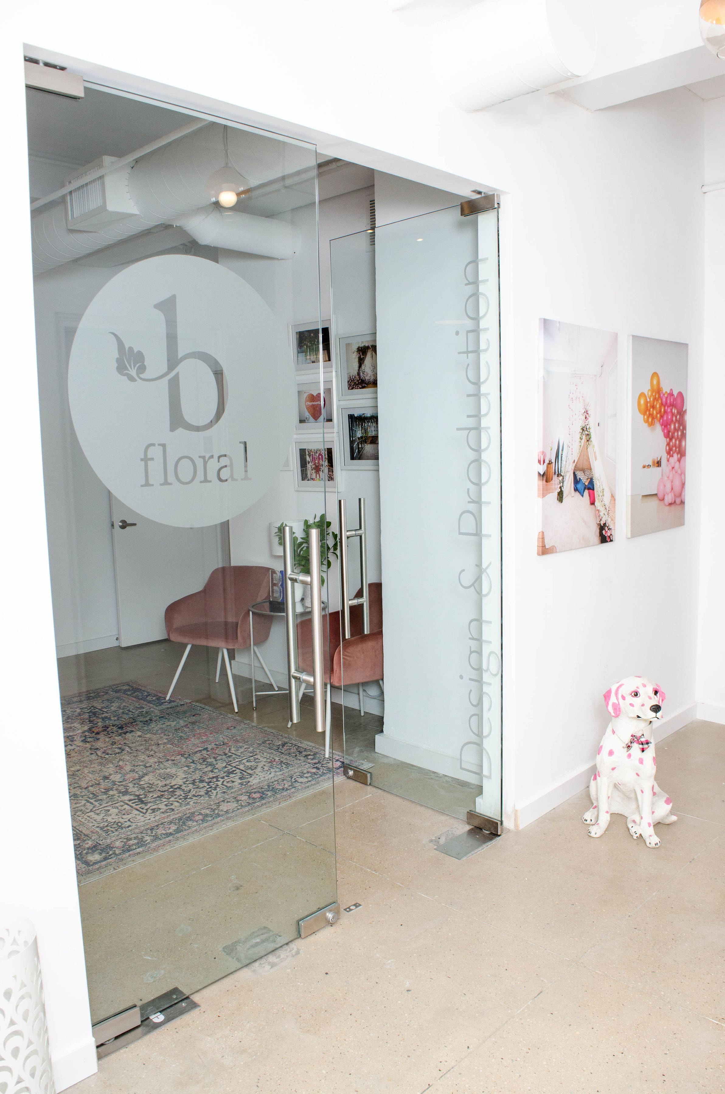 NEW - OFFICE - SPACE - MANHATTAN - COOL - OPEN - RECEPTION - B FLORAL