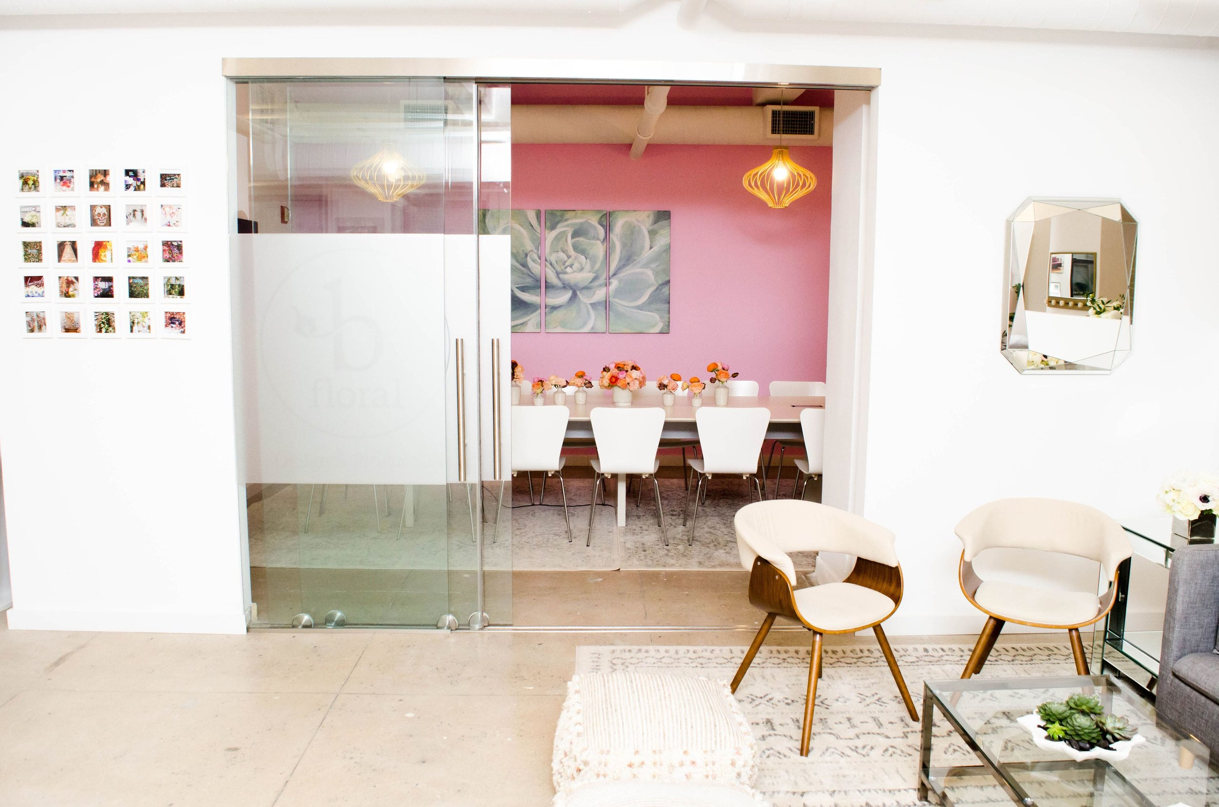 NEW - OFFICE - SPACE - MANHATTAN - COOL - OPEN - CONFERENCE ROOM - B FLORAL