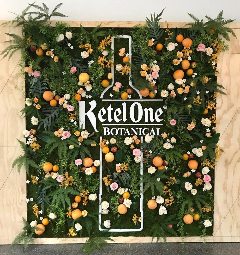 Ketel One Botanical Wall