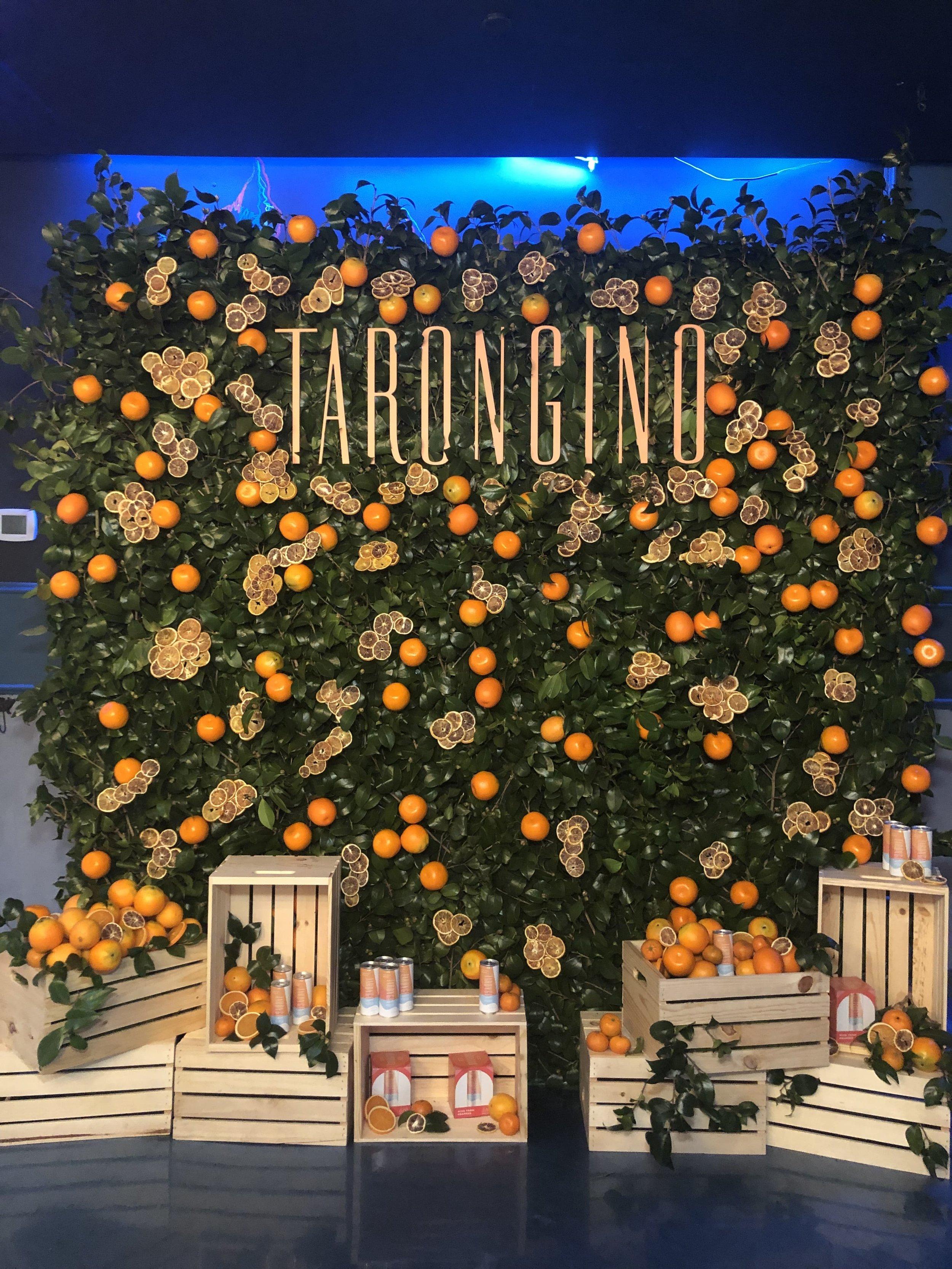Tarongino Fruit Wall