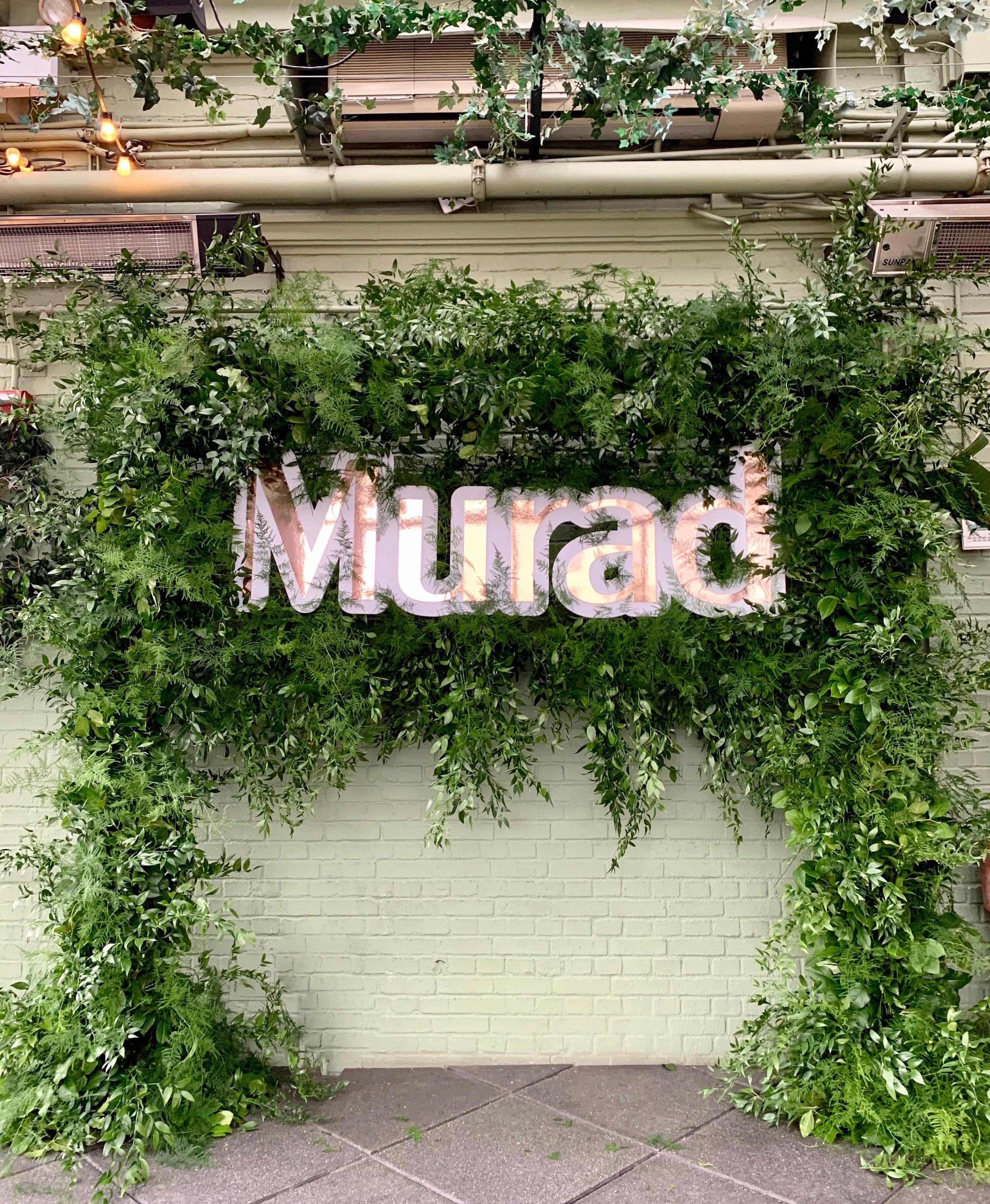 Murad Skincare Greenery Photo Moment