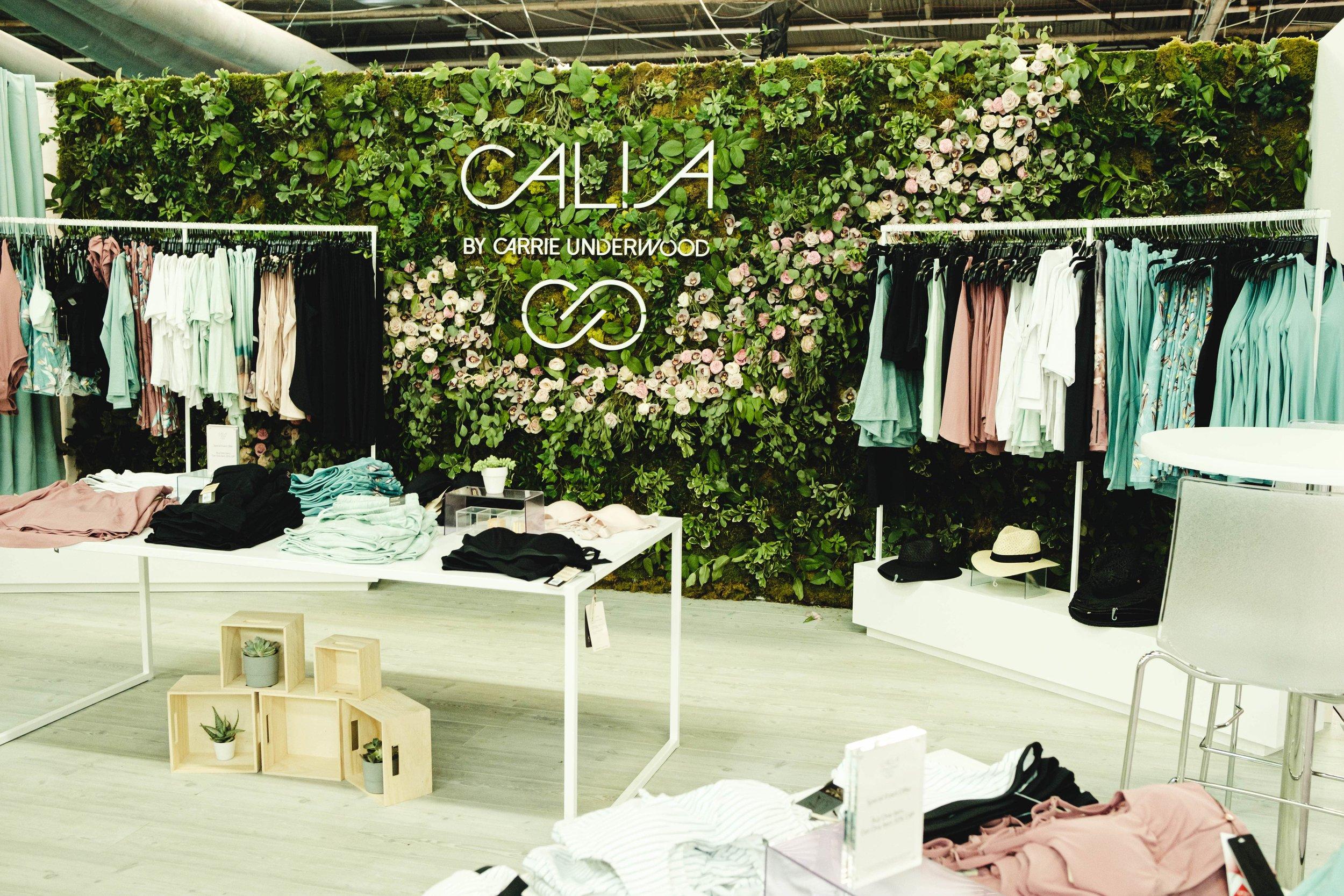 Calia by Carrie Underwood Greenery Wall