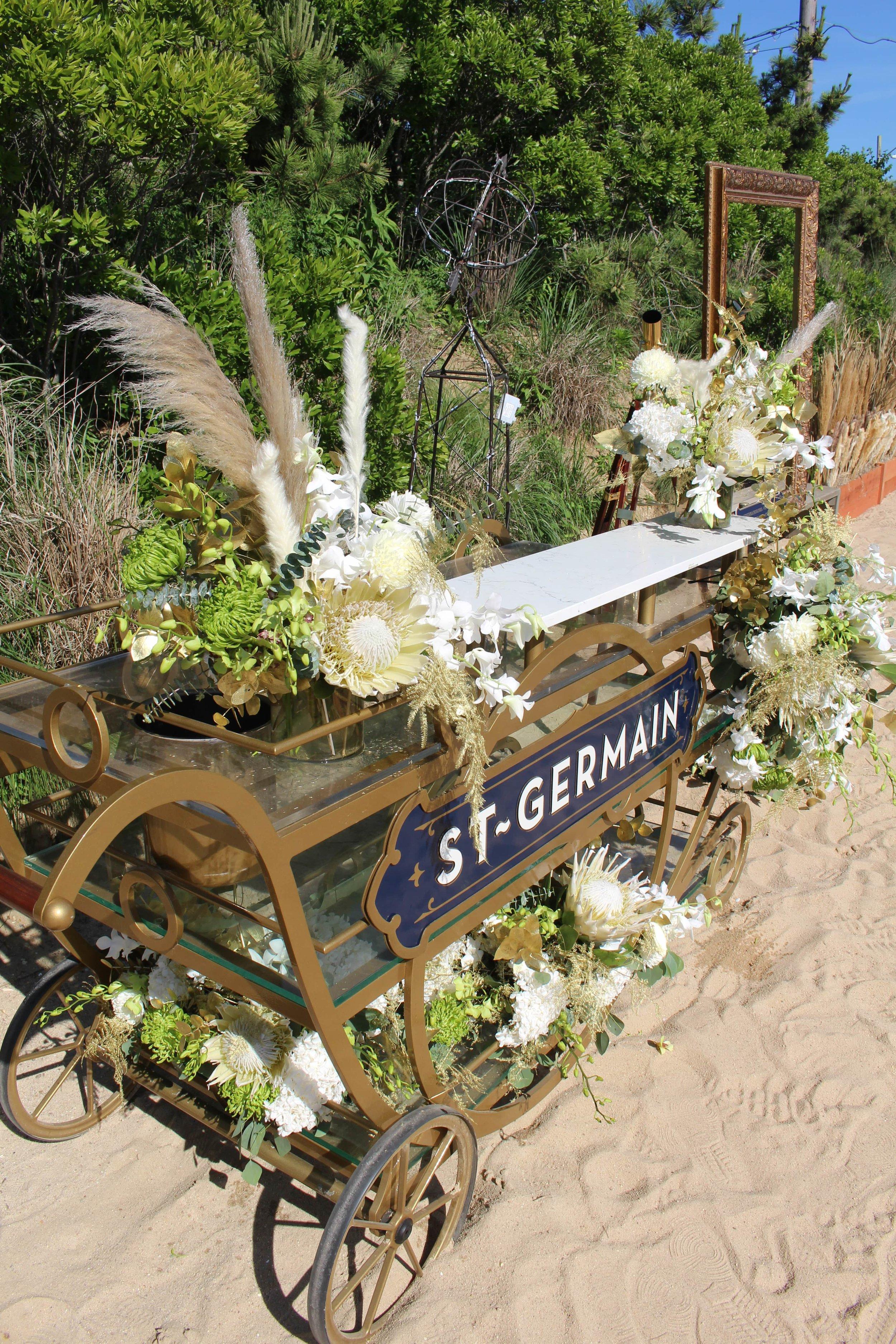 St-Germain Branded Cart