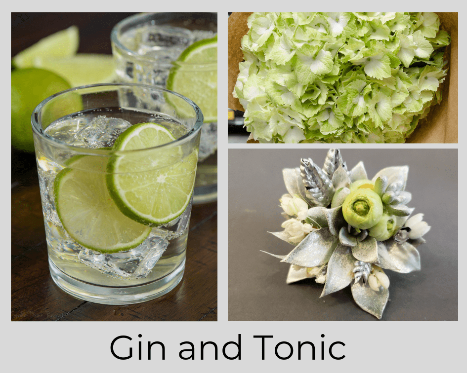 GIN AND TONIC - COCKTAIL - DRINK - FLOWER