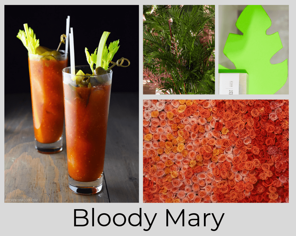 BLOODY MARY - DRINK - COCKTAIL - FLOWERS
