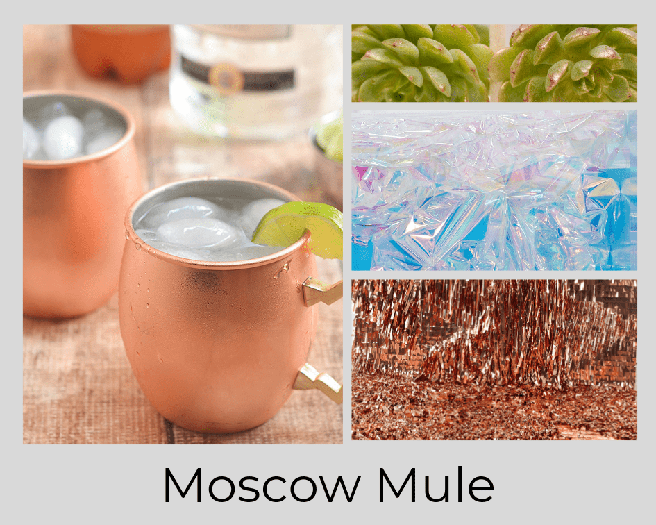 MOSCOW MULE - COCKTAIL - DRINK - FLOWERS