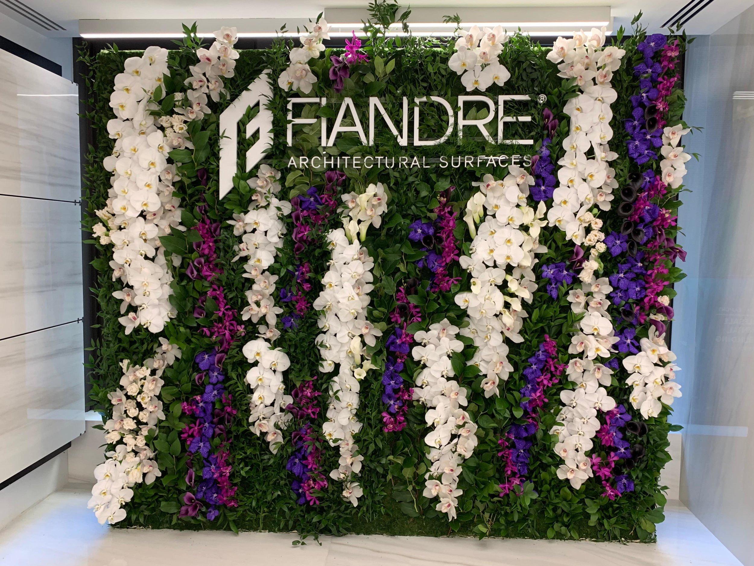 Fiandre Flower Wall