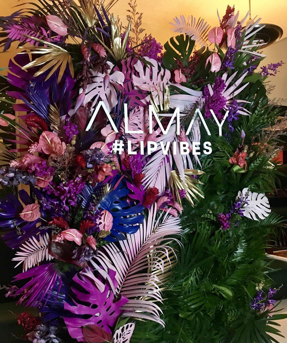 Almay Flower Wall