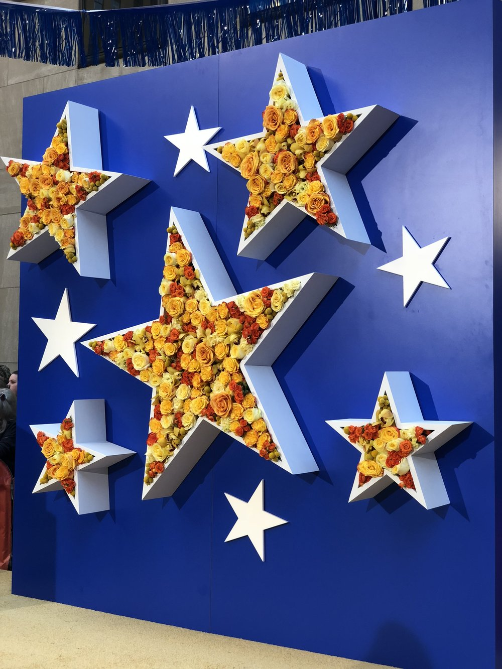TODAY Show Star Flower Wall