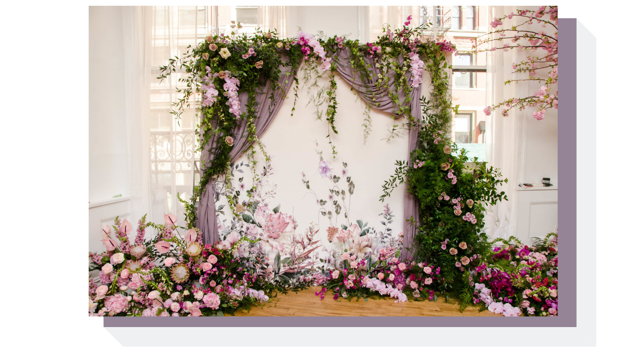 Floral Curtain Wall