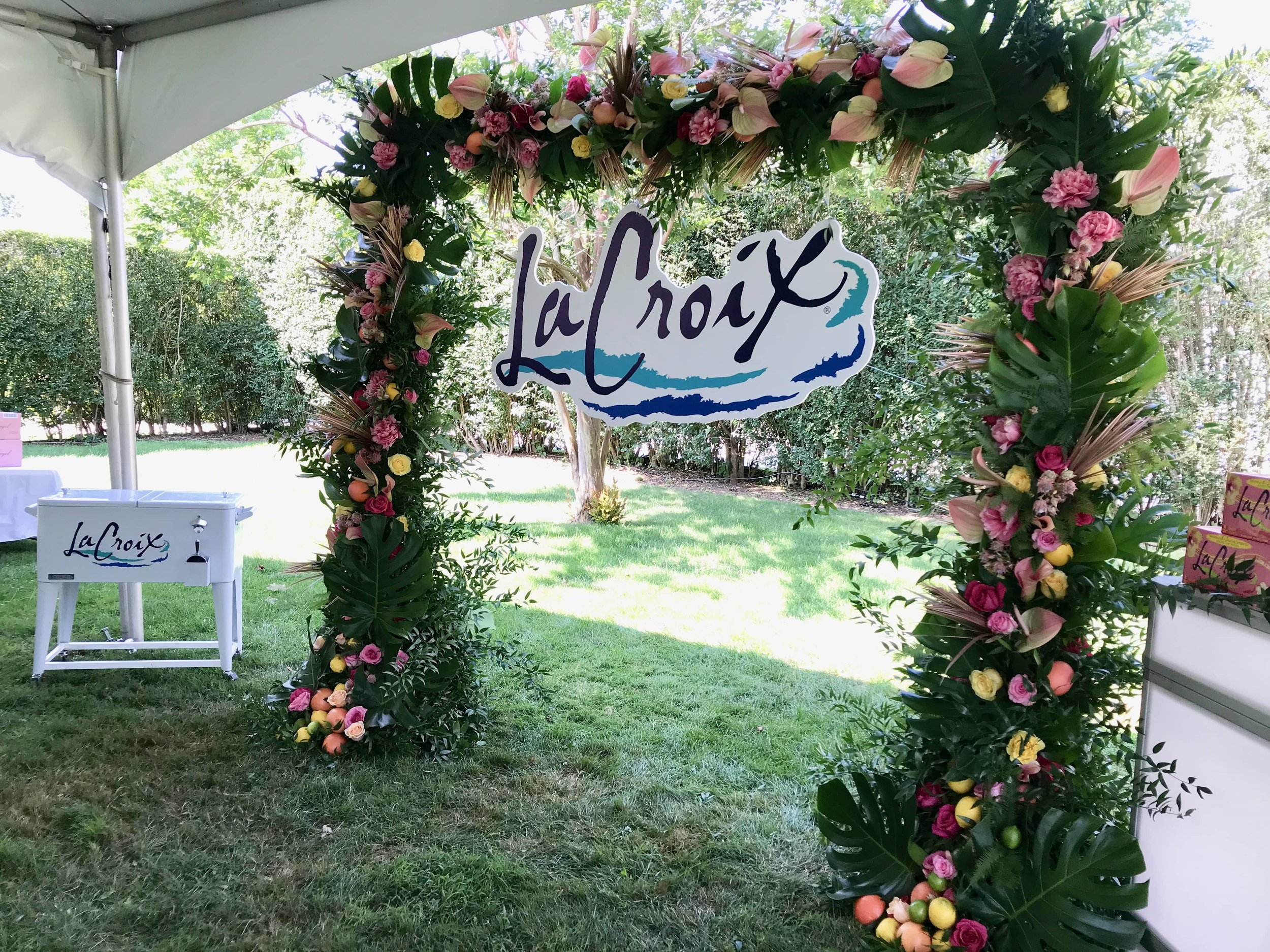 LaCroix Water Branded Arch