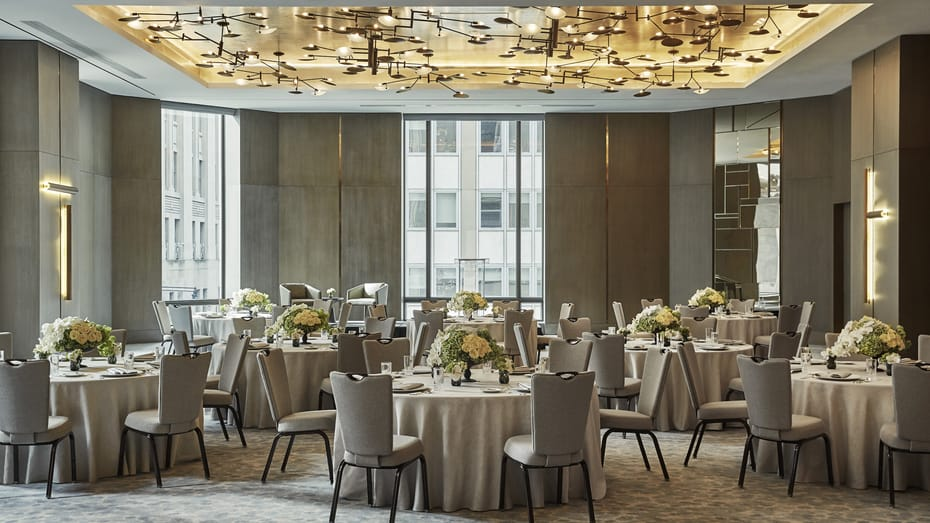 Four Seasons NY Downtown Dinner Party
