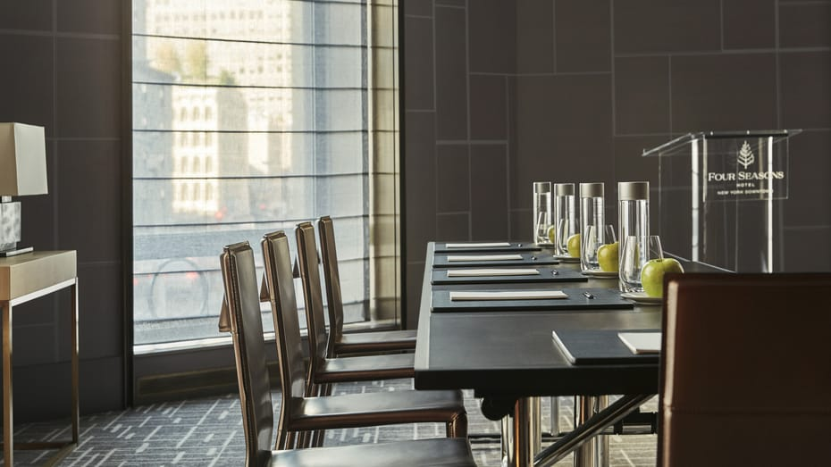 Four Seasons NY Downtown Meeting Room