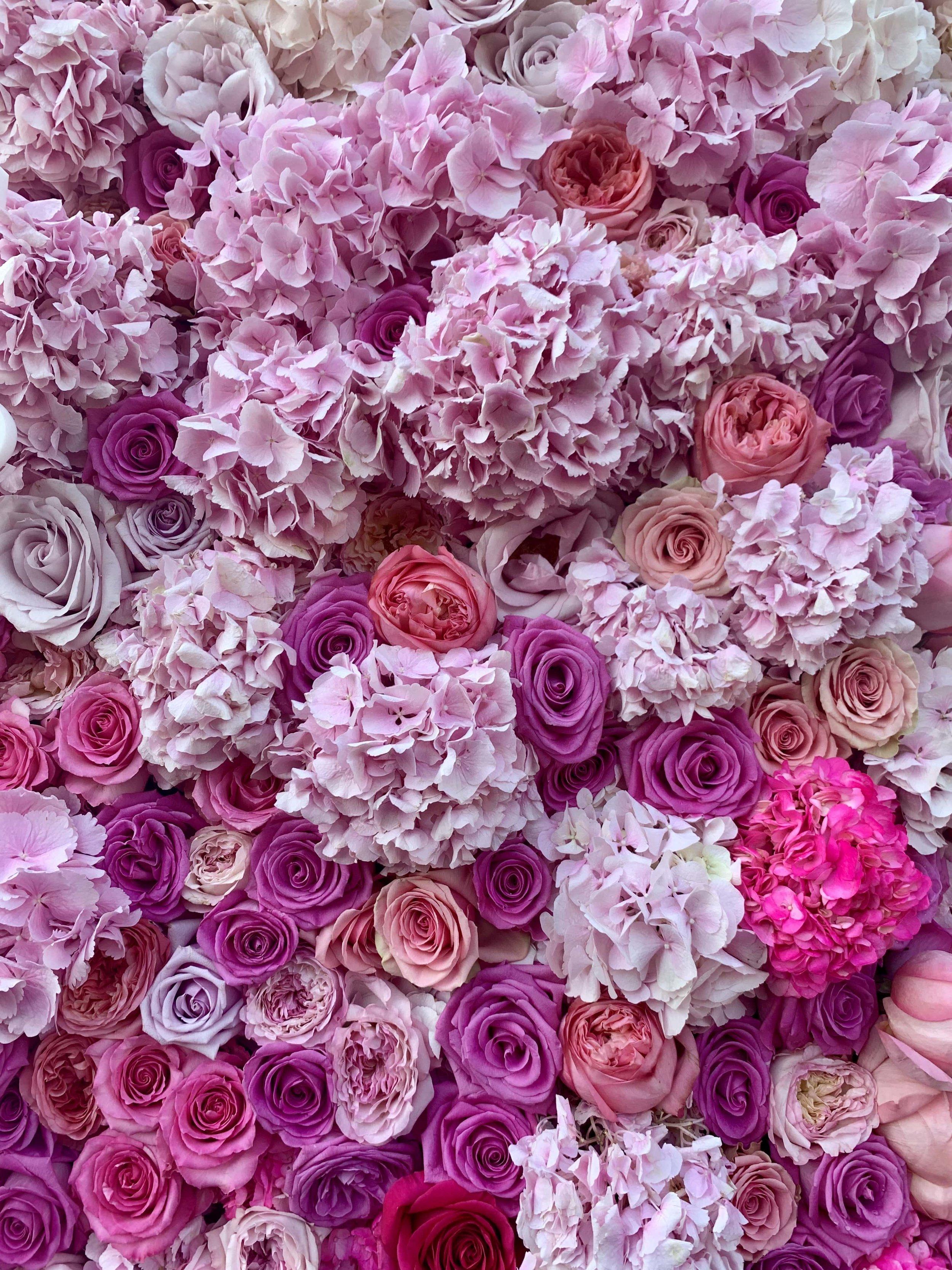 The Marvelous Mrs. Maisel Flower Wall Details