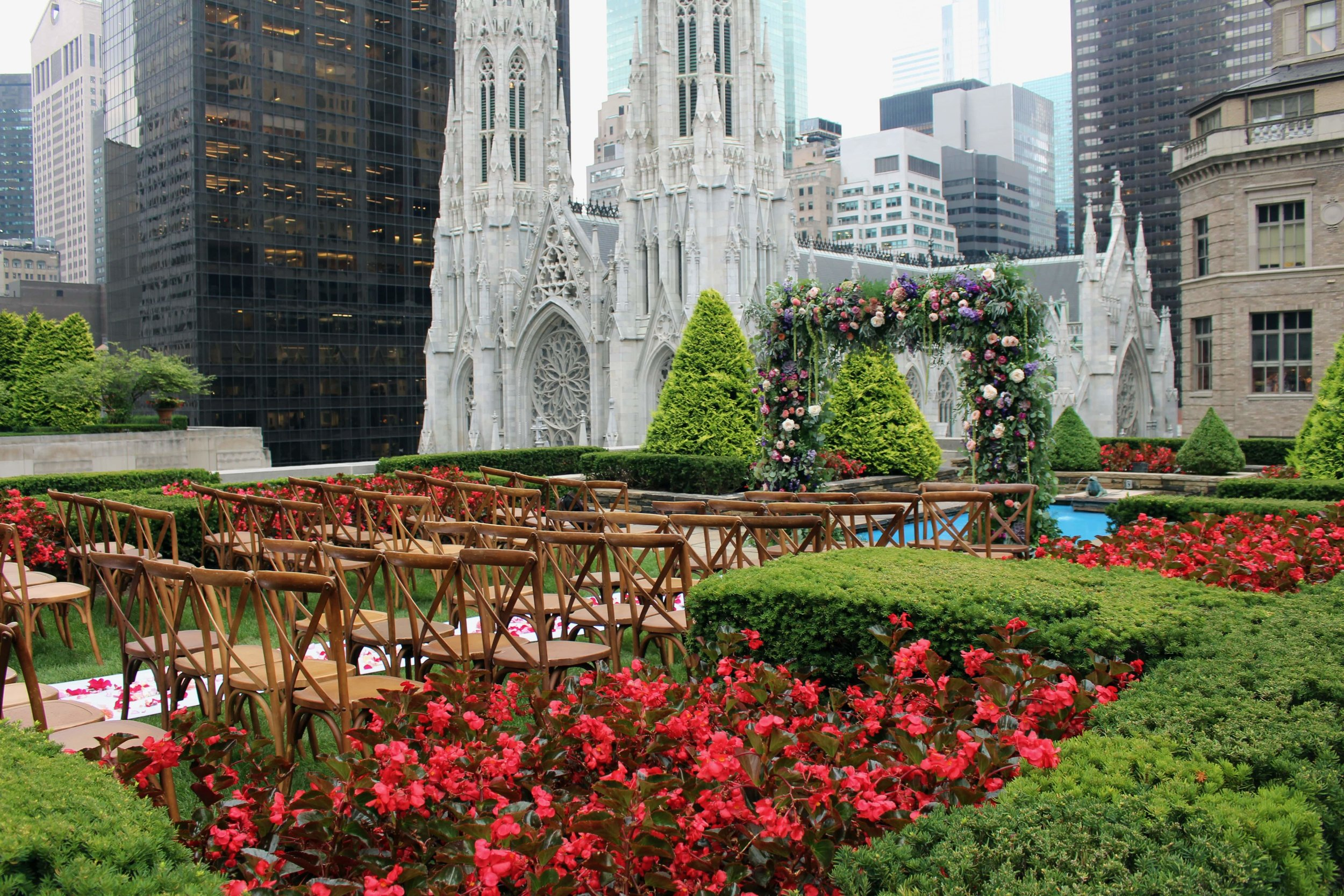 Rooftop Wedding at 620 5th Ave Garden Loft and Rooftop