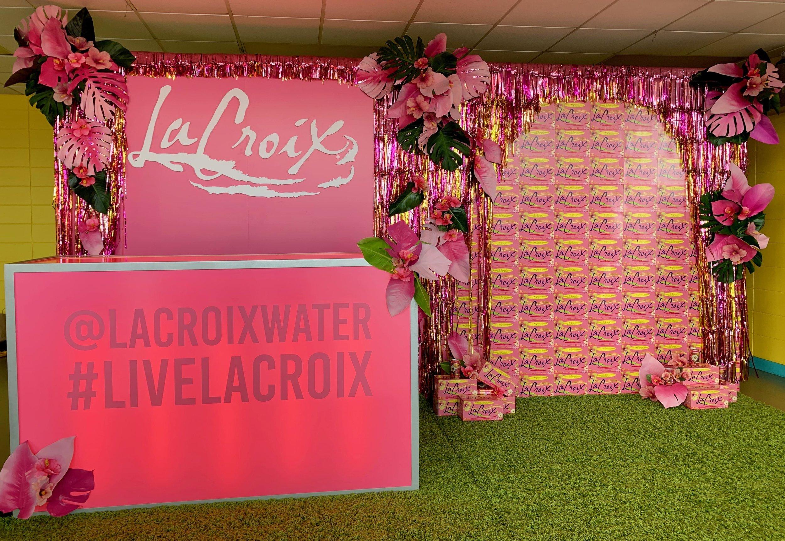 LaCroix Branded Activation