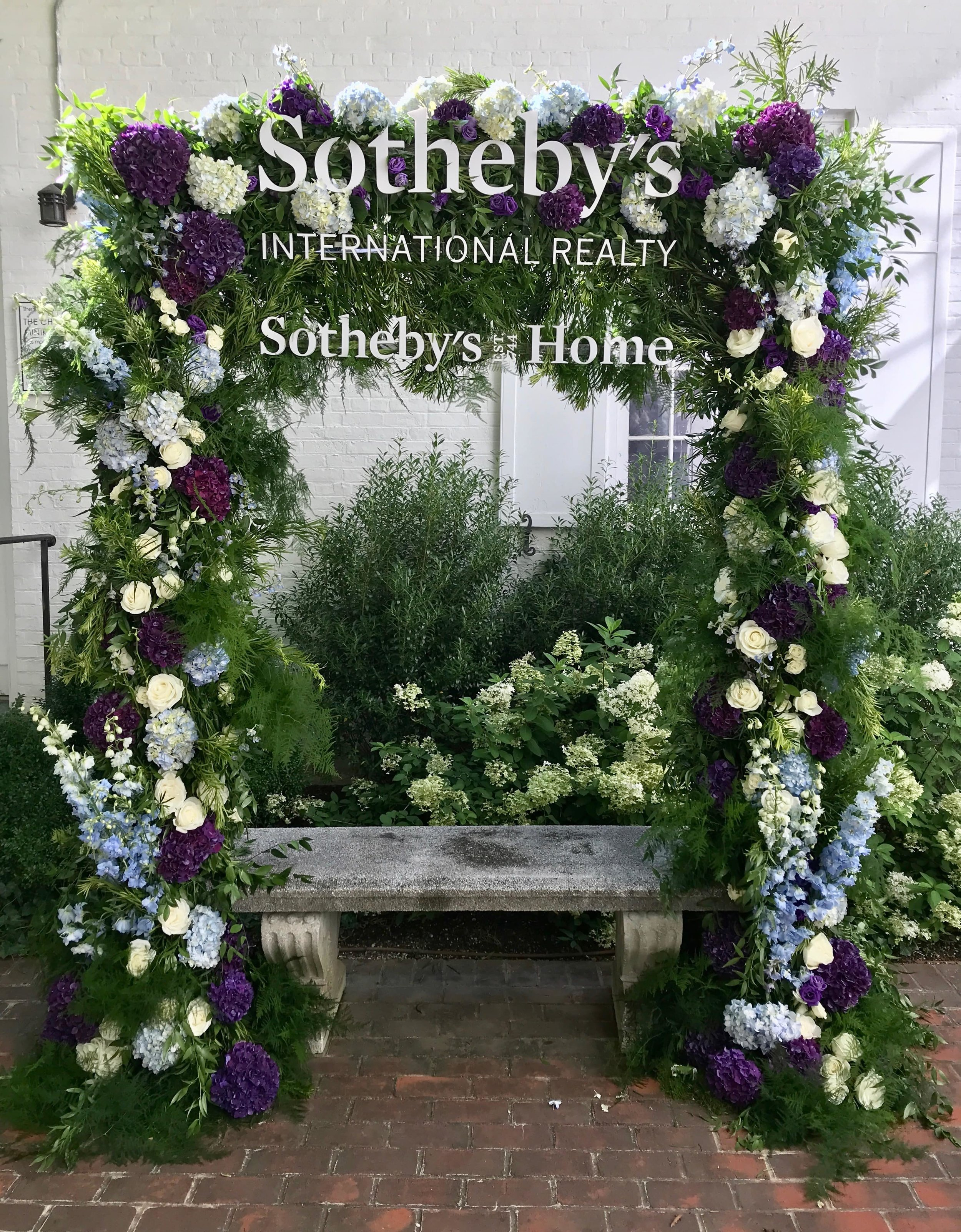 Sotheby's Home Floral Arch