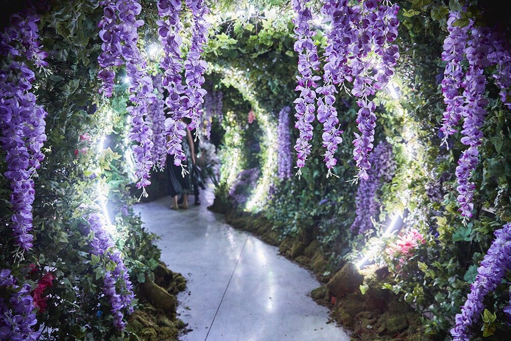 Greenery and Floral Archway