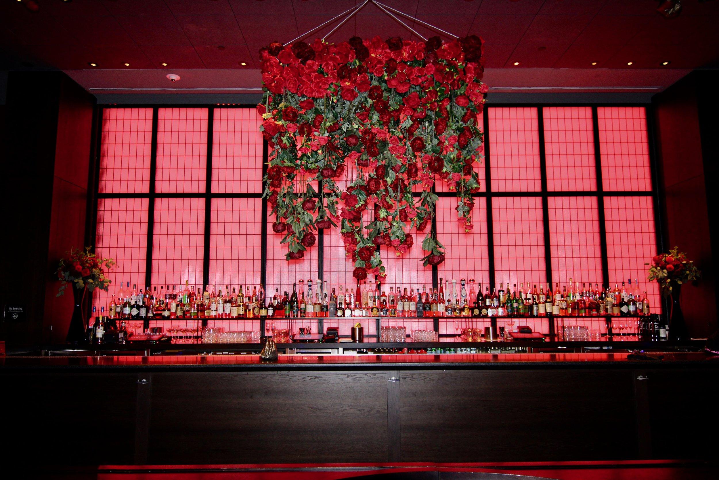 Victoria's Secret Fragrance Launch Hanging Chandelier