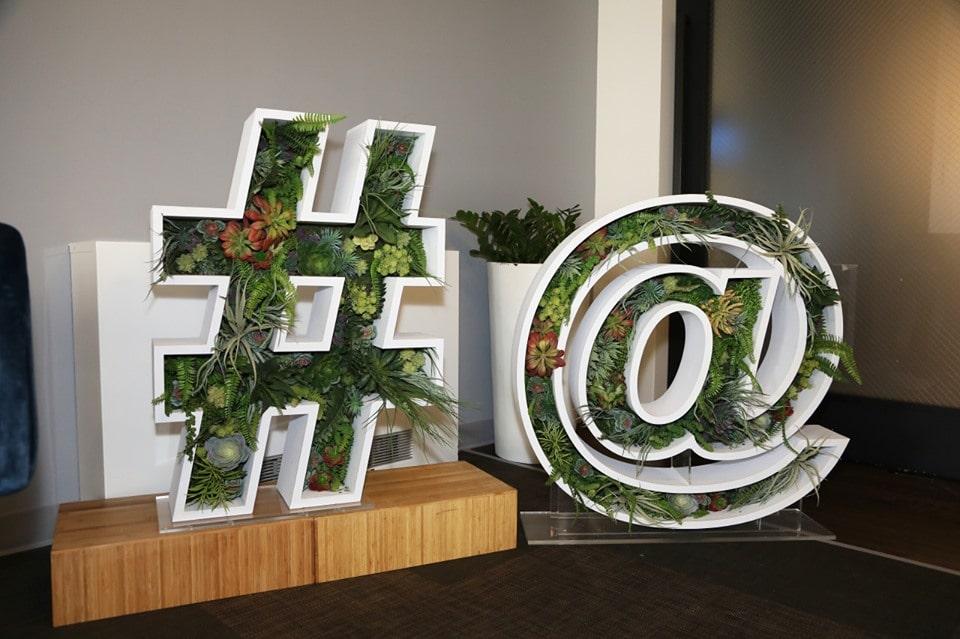Twitter Succulent Symbols
