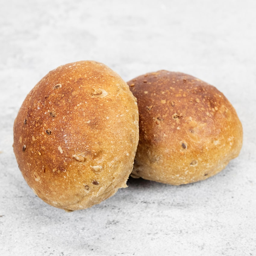 7 CEREAL ROLLS  Made from flour imported from a French watermill, similar to a granary bread but with its own distinctive flavour