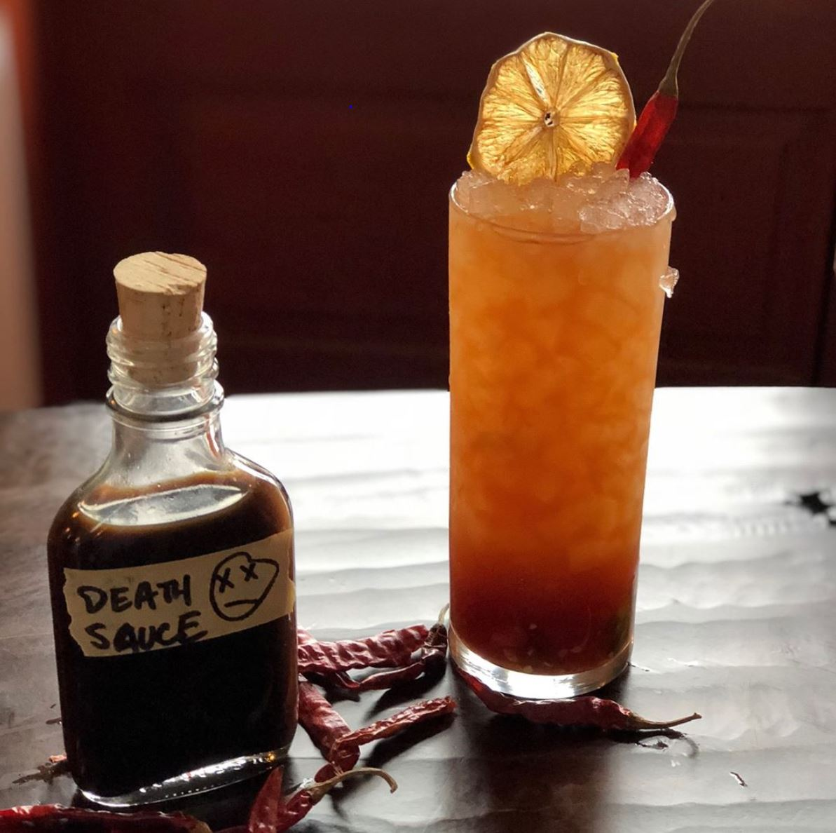 "The famous ""Bloody Janice,"" a true favorite. C/O Colts Neck Stillhouse Instagram Feed"
