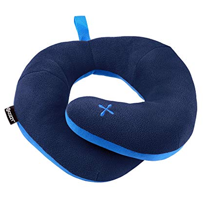 There are many gadgets available to make it easier to sleep on a plane, but most of them are either hard to carry or make one look completely ridiculous. This BCOZZY neck wrap pillow is super comfortable and allows you to easily adjust its fit for your optimal comfort. Plus its easy to carry and easy to wash.   (Amazon: $29.99)