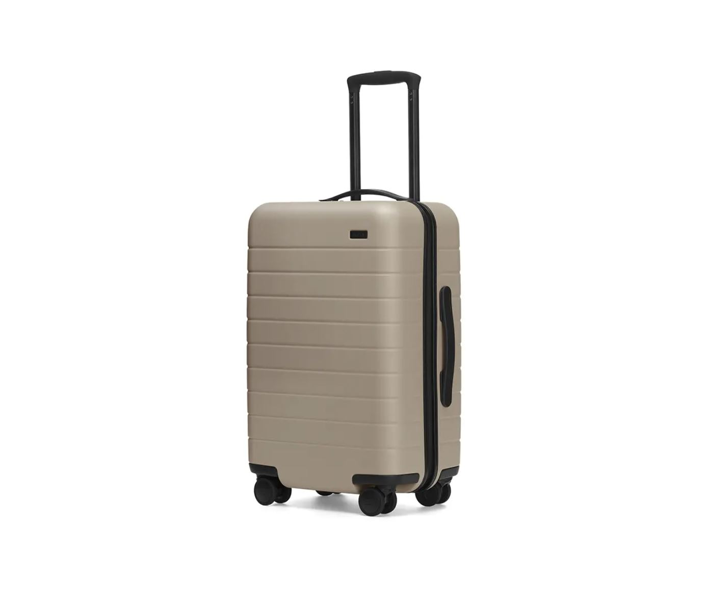 This hot seller for 2019 is great for men and women who travel often and are looking for the best-of-the-best in carry-on luggage. This model by AWAY is available in 10 finishes and boasts a removable rechargeable battery cube that will charge your phone or tablet quickly. It also has some great compartments inside to make packing a bit more elegant and clothes-friendly.  (AWAY: $225)