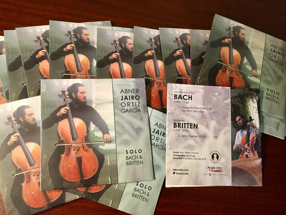 SOLO BACH & BRITTEN - New CD available now.