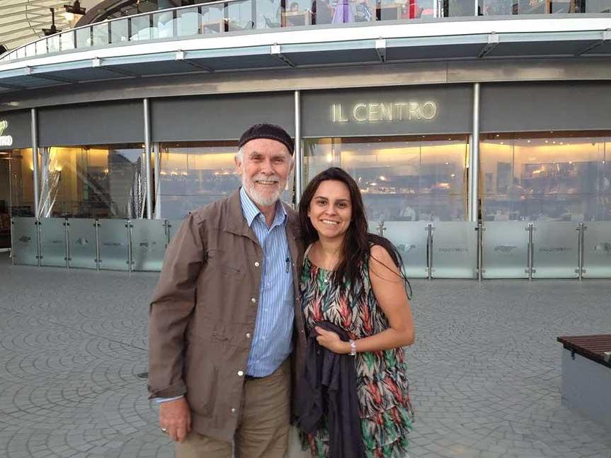 Dr. Isaac Golden and Renée