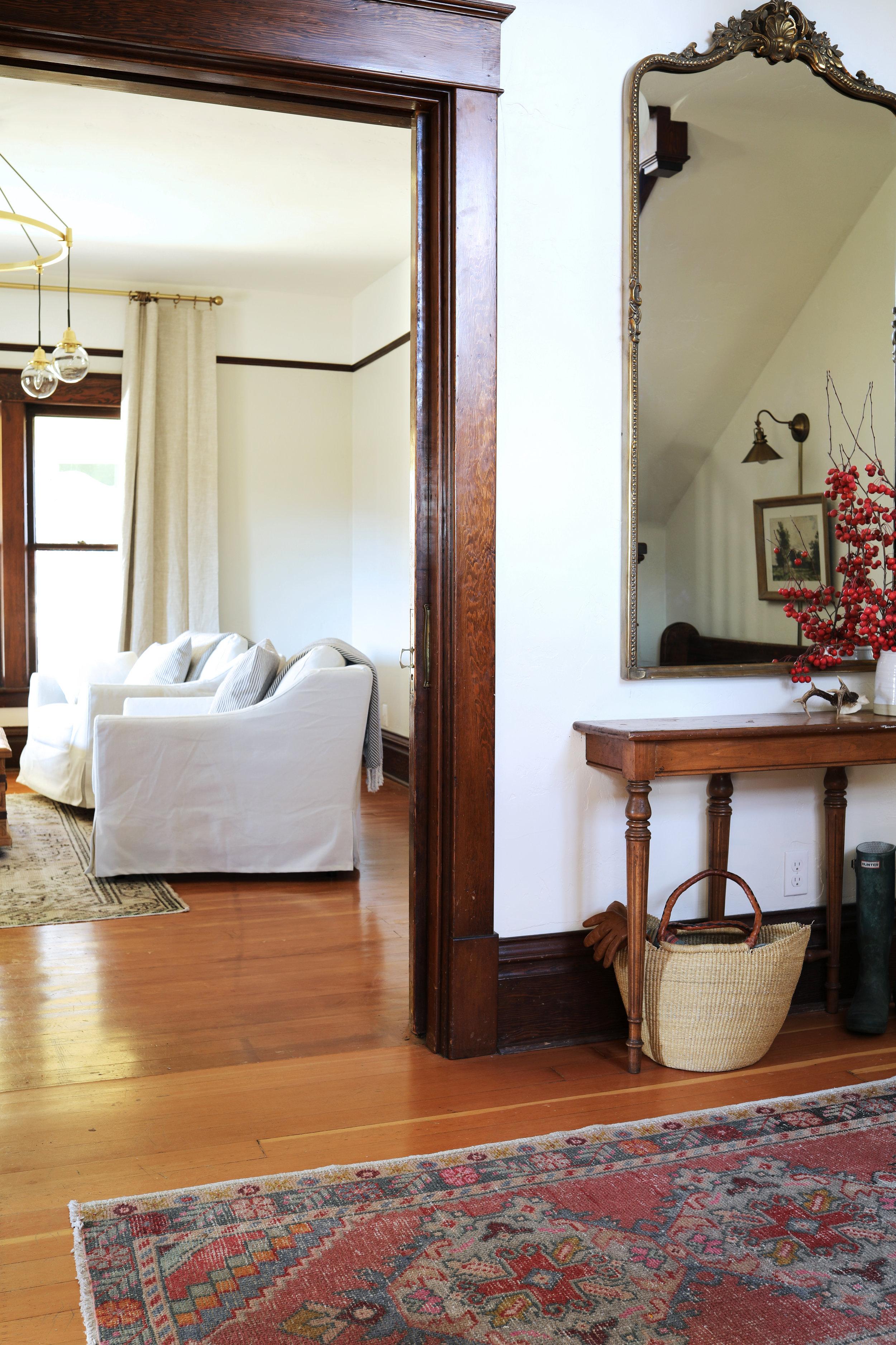 The Grit and Polish - Farmhouse Living Room + Entry.jpg