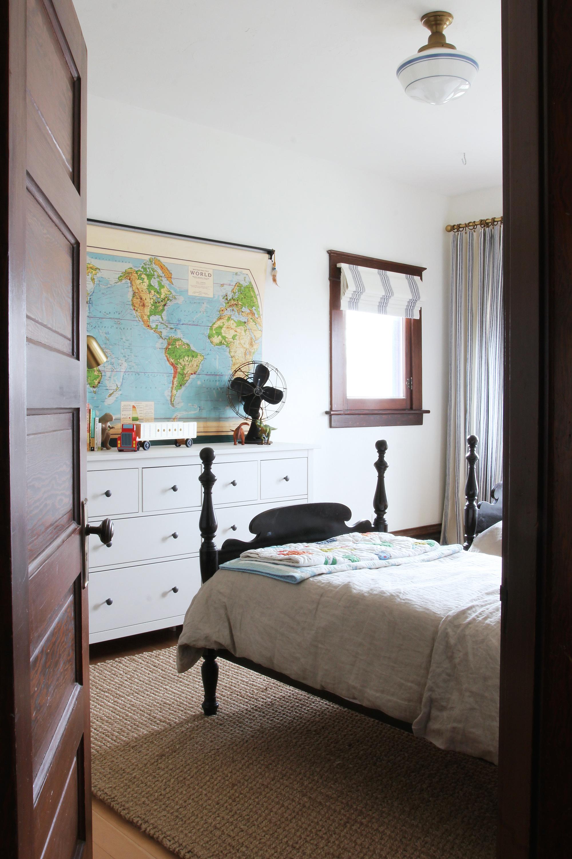 The Grit and Polish - Farmhouse Boys Room from Hallway 2.jpg